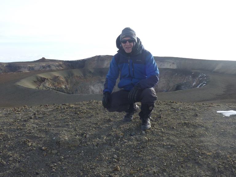 Kilimanjaro trekking crater flour camp