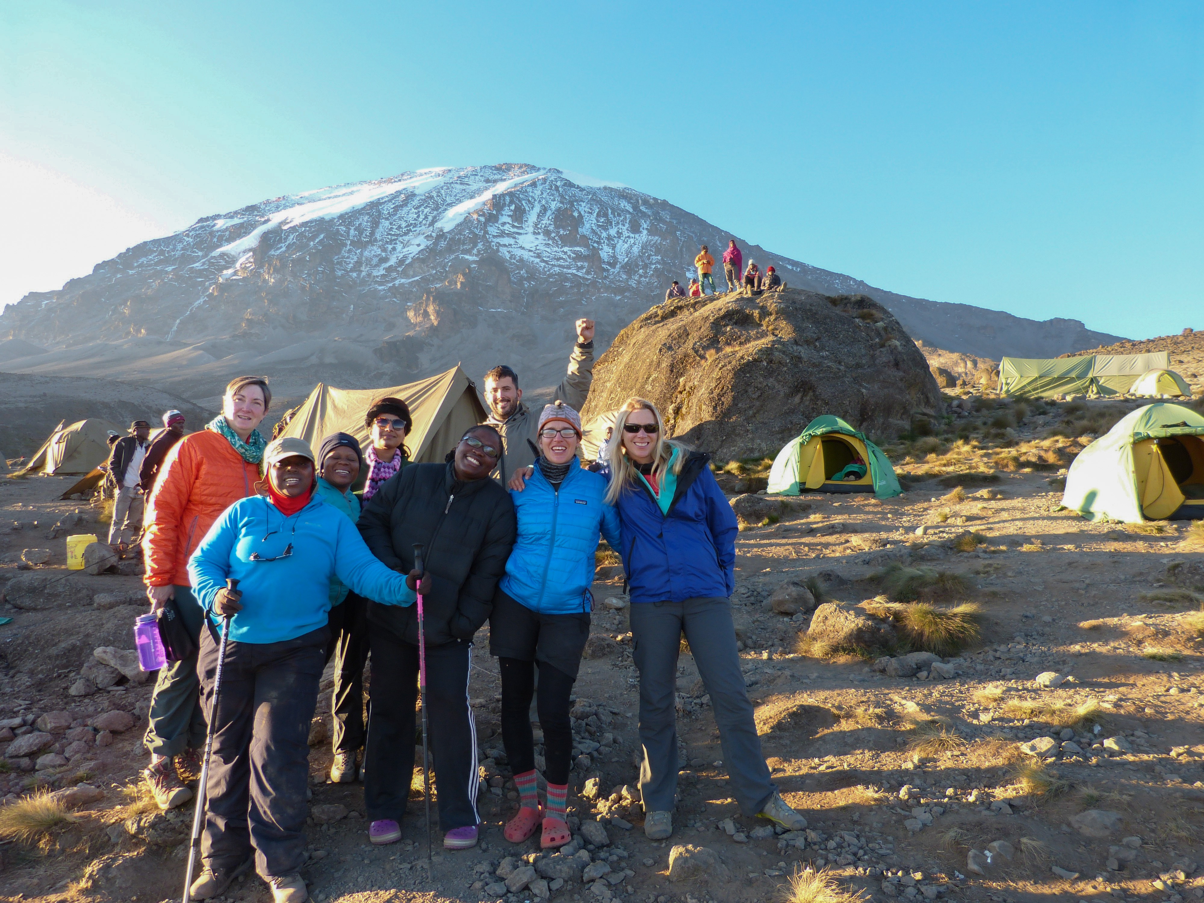 kilimanjaro machame climbing group