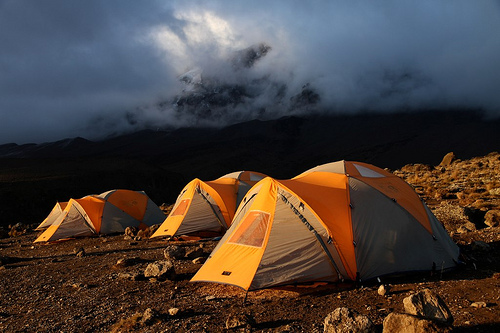 kilimanjaro-trekking-machame-baranco-camp