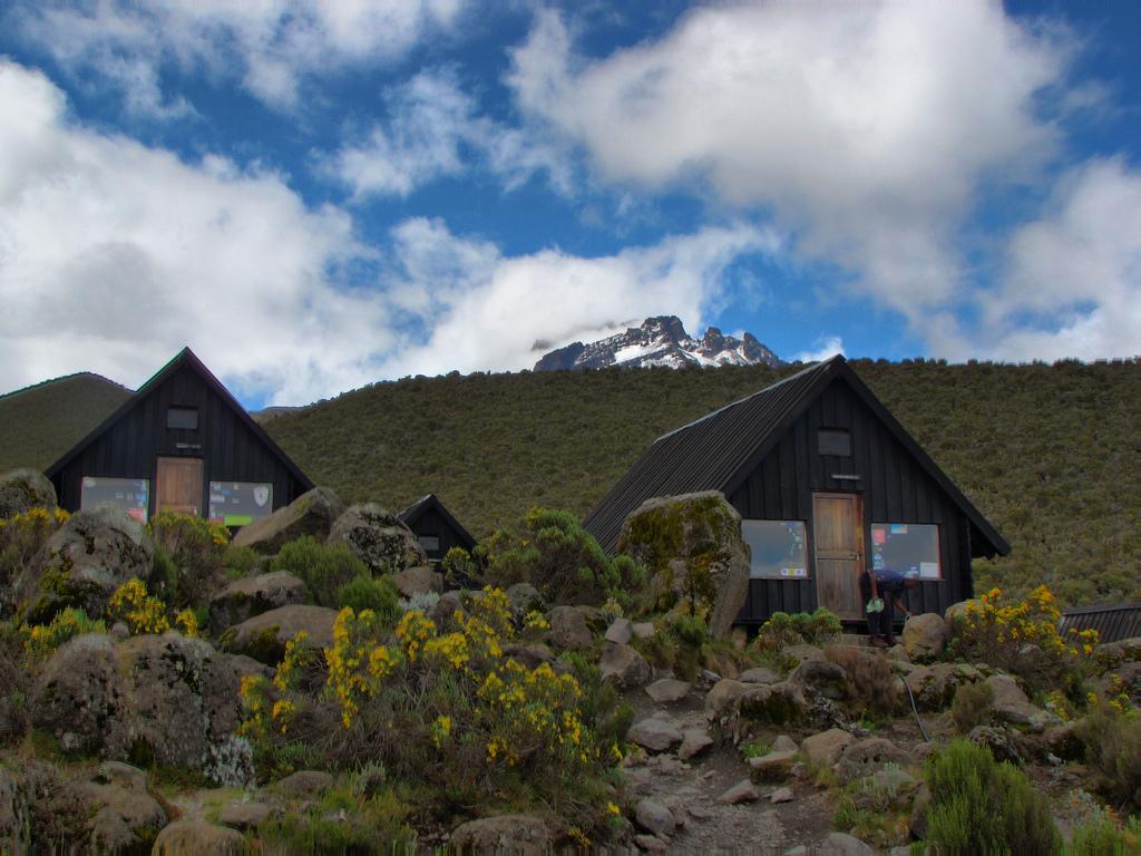 view of mount kilimanjaro via marangu hunt
